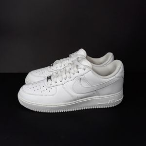 Nike Air Force One Low 07 White Sz 8